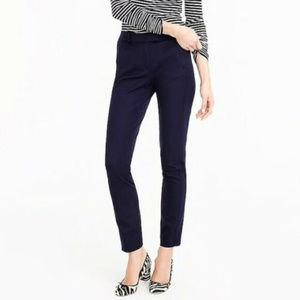 New J Crew Maddie Navy Blue 8T Slim Ankle pants